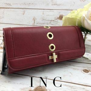 INC Korracred Red Clutch